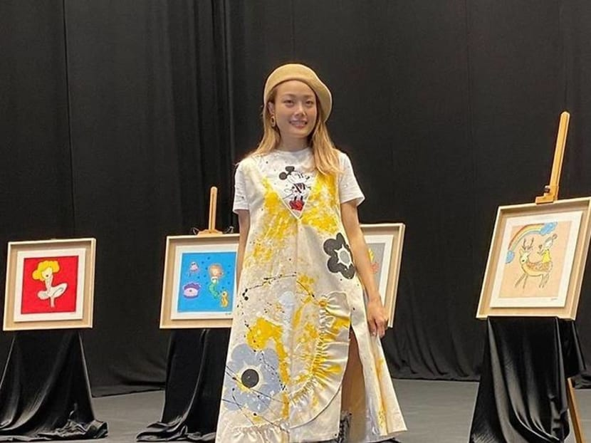 Joey Yung to auction paintings to help children with their school needs
