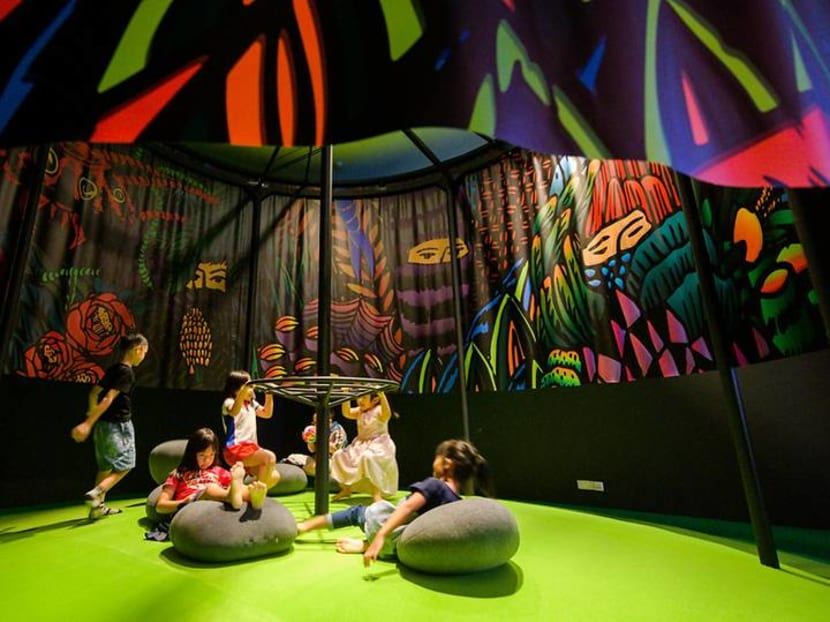 Cosmic bridges, music with plush balls and more at this year's Children's Biennale