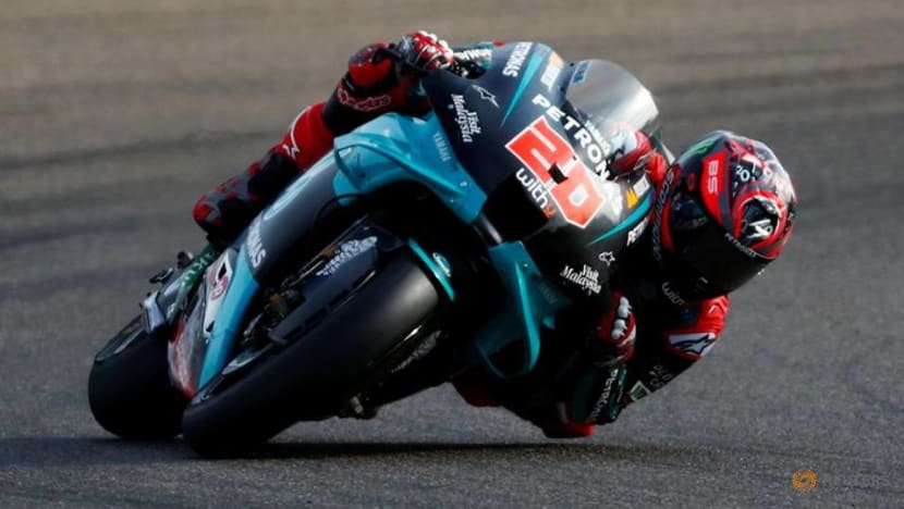 Motorcyling-Quartararo takes pole in Portugal as Bagnaia's lap cancelled