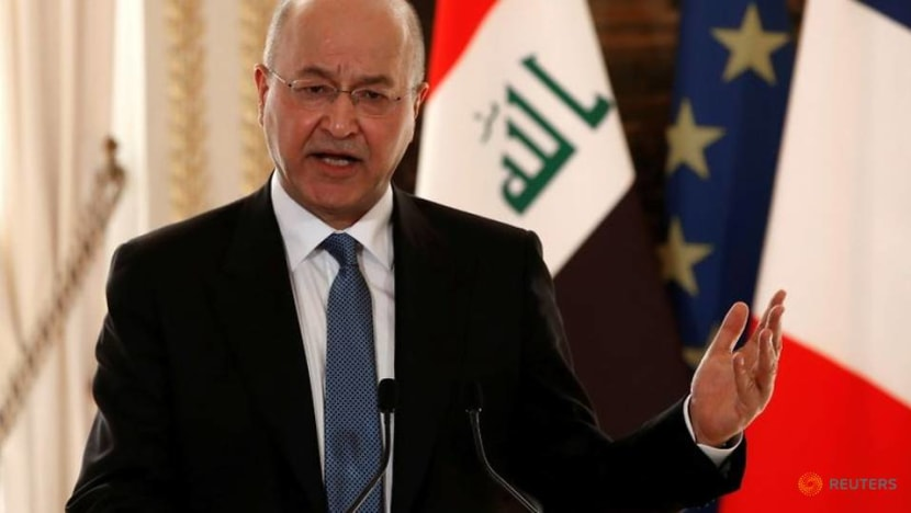 Iraqi president on list for potential Pegasus surveillance - Washington Post