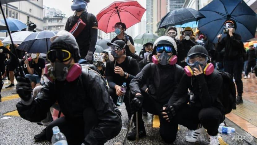 Hong Kong leader Carrie Lam announces ban on face masks