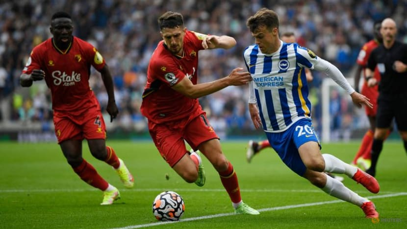 Football: Brighton go joint top with win over Watford
