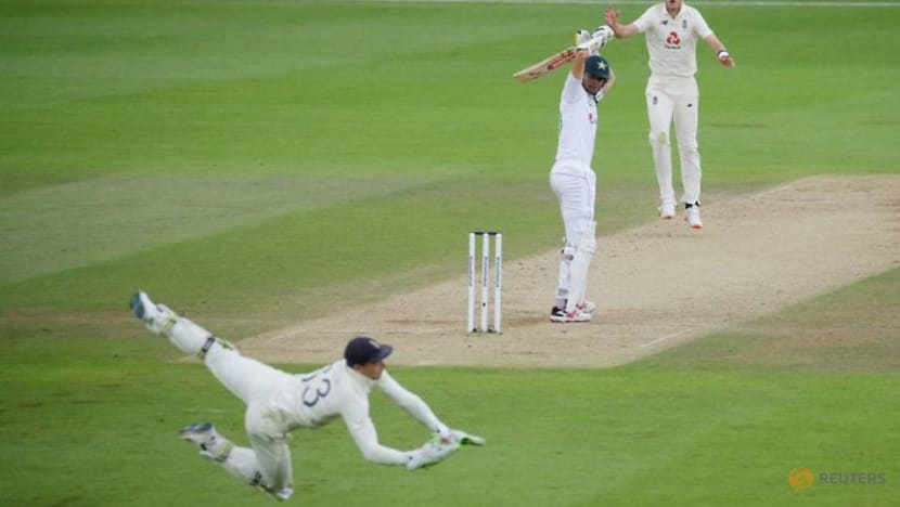 Cricket: England's Anderson reaches 599 wickets as Pakistan dig in