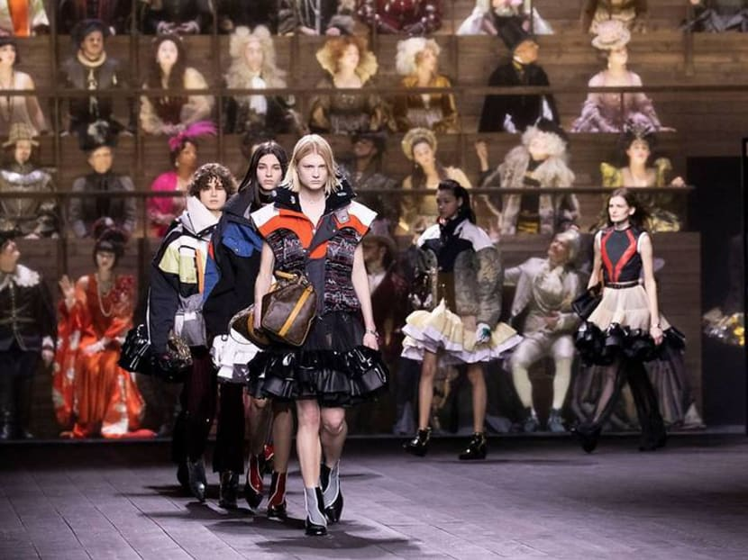 Louis Vuitton closes fashion month with dramatic time-travelling spectacle