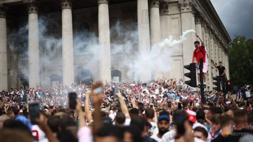 Football: Party starts early ahead of Euro 2020 final
