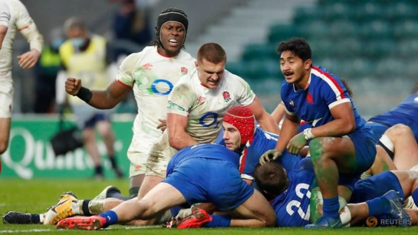 Rugby: Farrell 'golden' penalty wins Nations Cup for England in sudden-death extra time