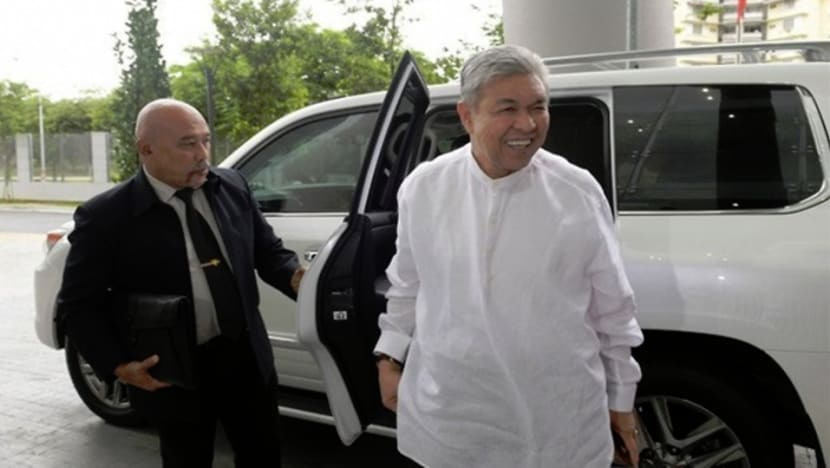 UMNO president Ahmad Zahid's graft trial suspended after hospitalisation due to fall