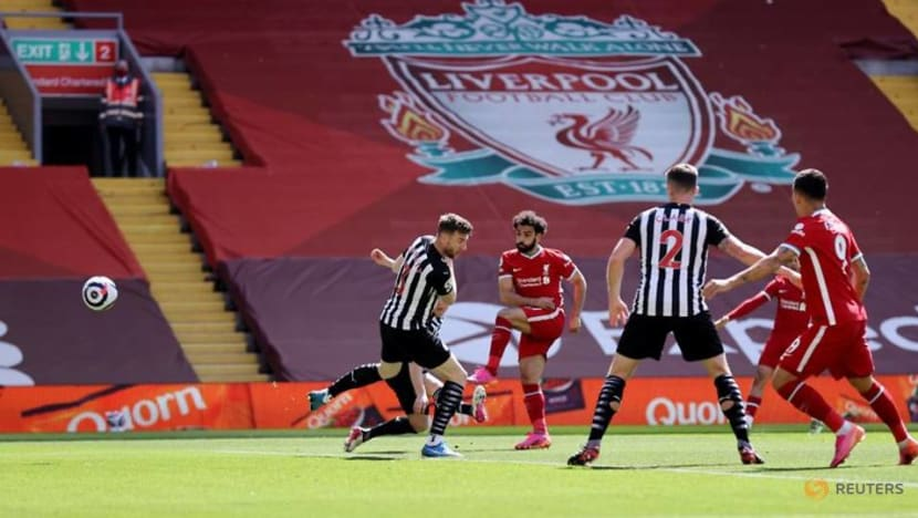 Soccer-Liverpool report 46 million pound pretax loss for 2019-20 amid pandemic
