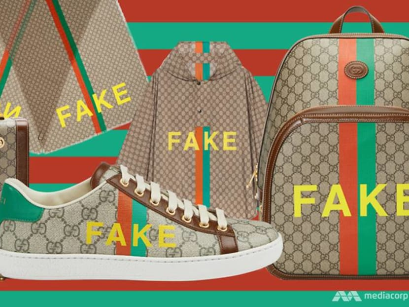 Fake? Or not? This playful Gucci collection pokes fun at counterfeit culture