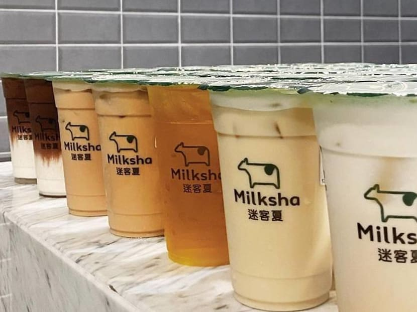 Milksha bubble tea is now available for islandwide delivery