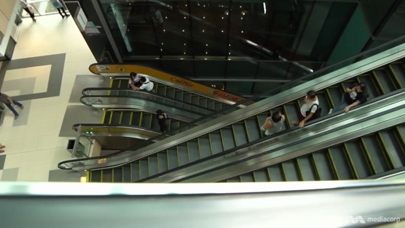Almost an accident a day on Singapore's escalators, and the reasons why