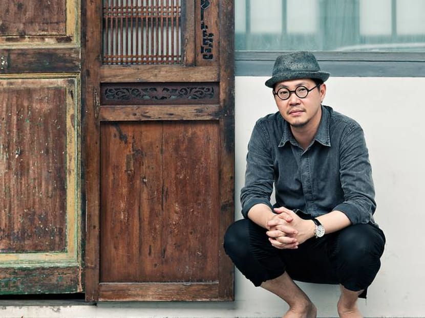 Creative Capital: The man behind National Gallery Singapore's logo and why he's a hit