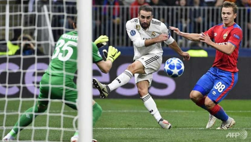 Football: Real Madrid slip to shock defeat by CSKA after Kroos mistake