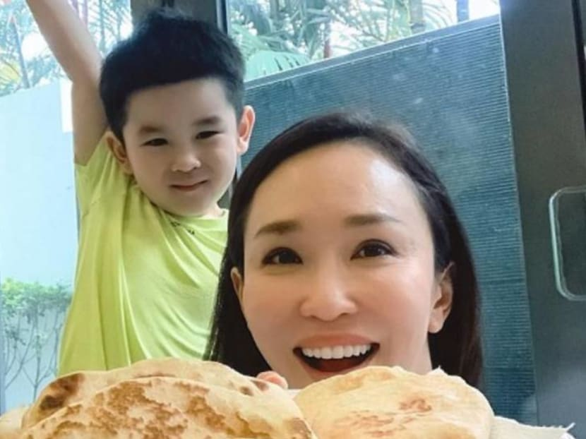Actress Fann Wong is an avid baker but her son doesn't have a sweet tooth
