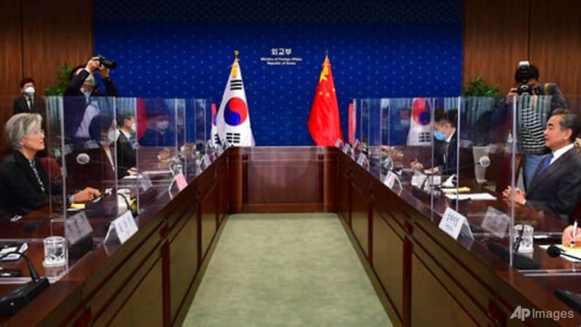 South Korea, China top diplomats vow to work on North Korea, COVID-19
