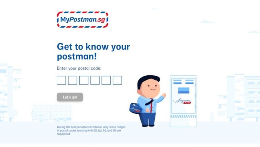 SingPost launches platform for residents to rate, give feedback on postmen