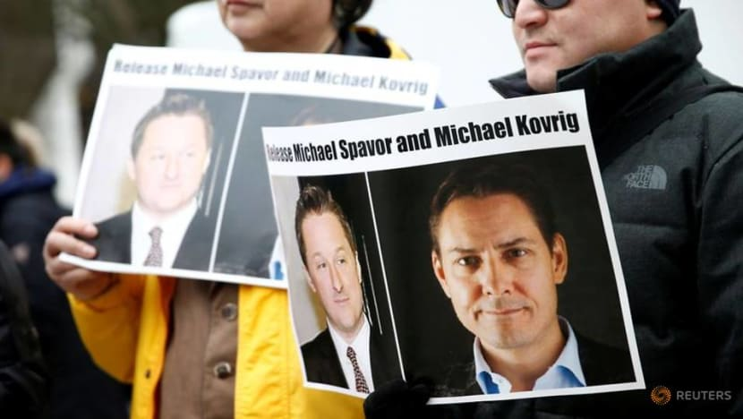 Canadian Michael Kovrig, facing espionage charges in China, in closed-door trial