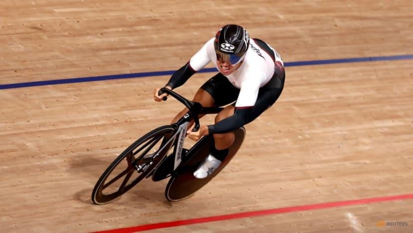 Olympics-Cycling-No regrets for Wakimoto as keirin dream falls short