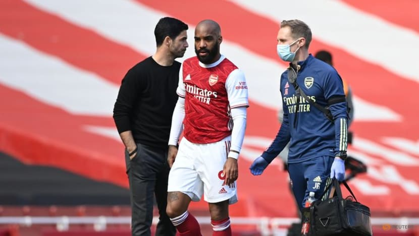 Football: Aubameyang and Lacazette among four positive COVID-19 cases at Arsenal