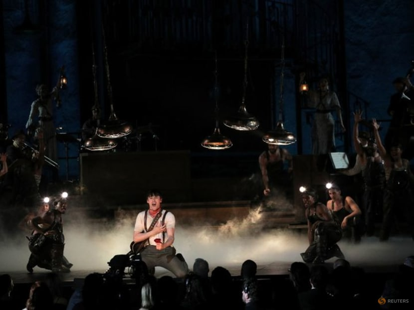 Hadestown marks return of Broadway musicals after 18-month COVID-19 shutdown