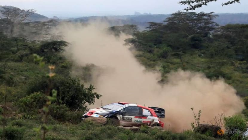 Rallying-Ogier leads in Kenya after Neuville retires