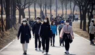 South Korea reports record daily COVID-19 cases; planning how to live with virus