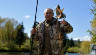 Russia President Putin ends COVID-19 self-isolation with Siberian fishing trip