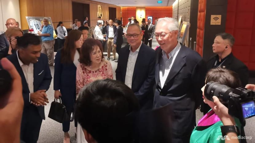 'Sport has a way of uniting people': ESM Goh hopes for more sporting success stories
