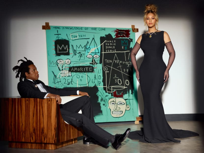 Why is Beyonce flaunting a 128-carat diamond alongside Jay-Z?