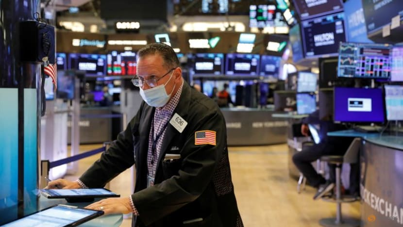 US stocks end at record highs as oil prices gain