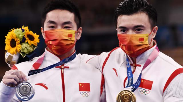 一小时内收获四枚金牌  中国金牌数量超越里约奥运会