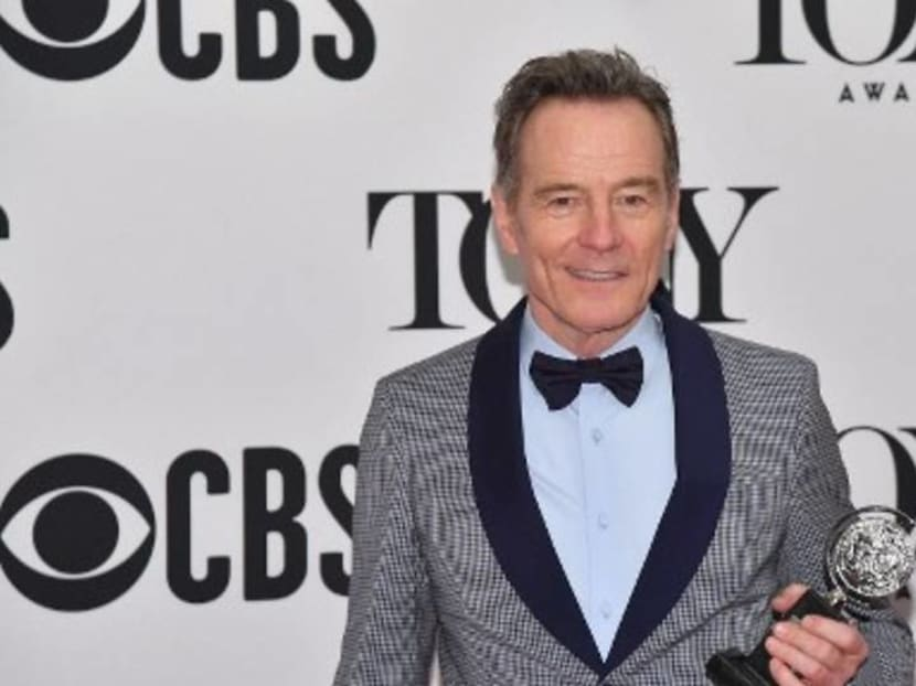Bryan Cranston wins Tony award for best leading actor in a play