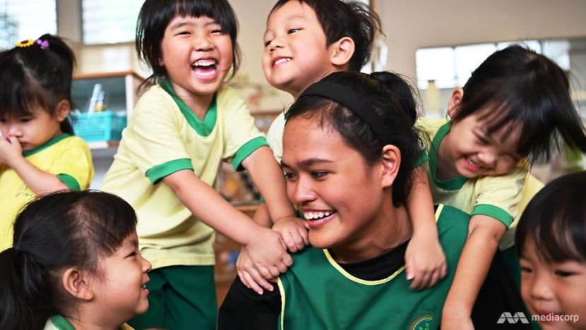 'No different from other teachers': The childcare aide with special needs