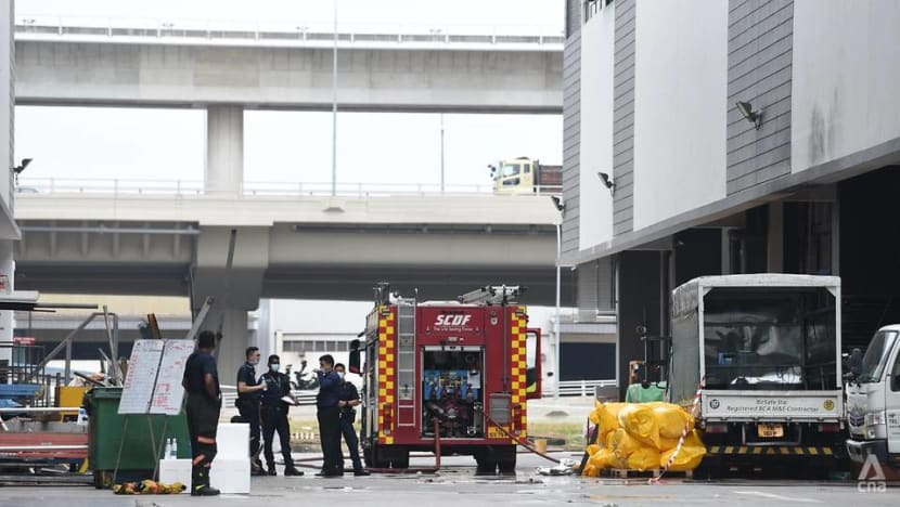 Tuas explosion: Workers reported 'red flags' like fires, oil leaks and smoke at machine before fatal incident