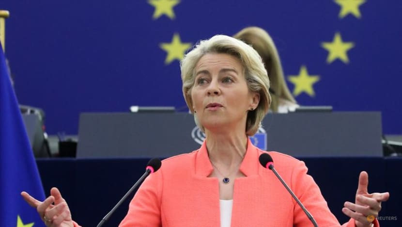 EU's chief executive warns against 'pandemic of the non-vaccinated'