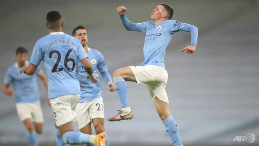 Football: Foden grabs winner as Man City edge out dogged Brighton