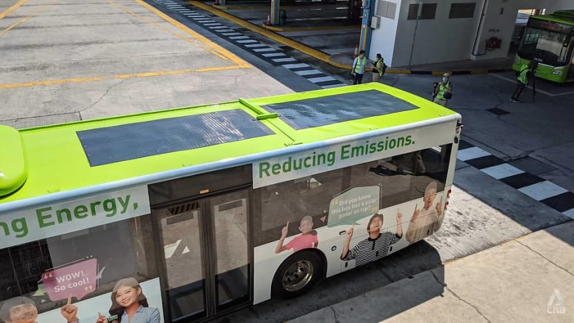 Go-Ahead to conduct six-month trial of buses with solar panels