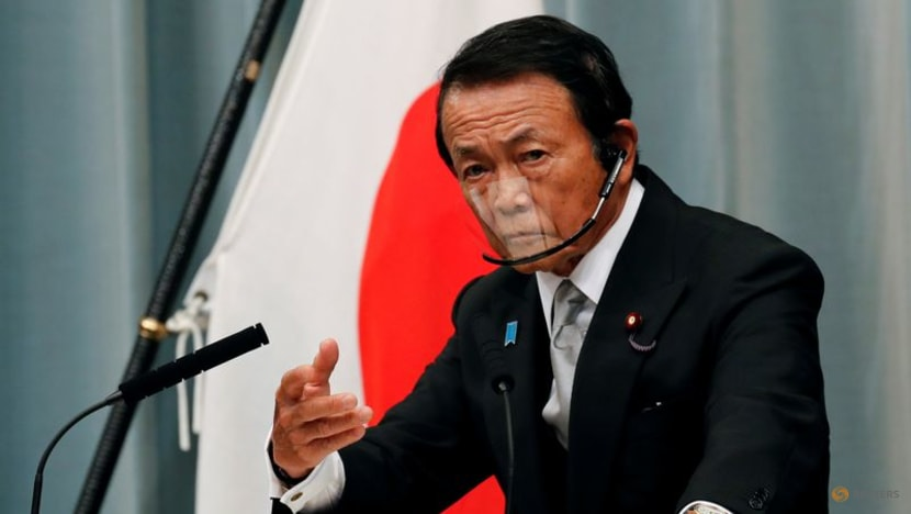 Japan Finance Minister says too early to comment on stimulus