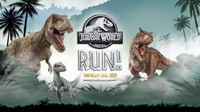 Jurassic World虚拟跑 展开惊险恐龙追逐战!