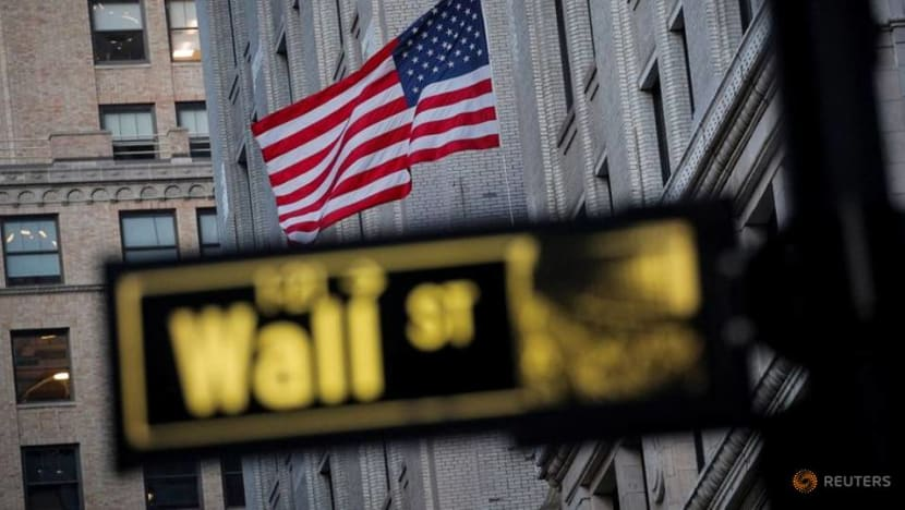 Nasdaq ends at record high on stimulus bets, Apple boost