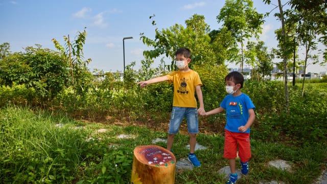 武吉甘柏公园开幕 高处欣赏景色设蝴蝶园遛狗场
