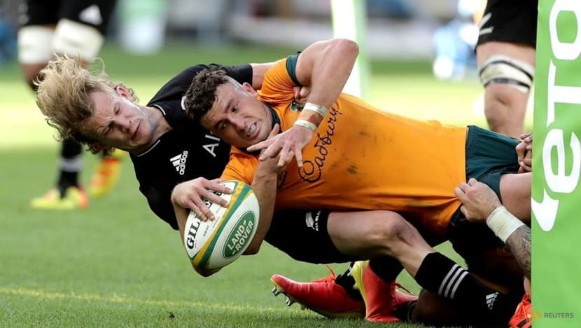 Rugby: All Blacks whitewash Australia with 38-21 rout in Perth