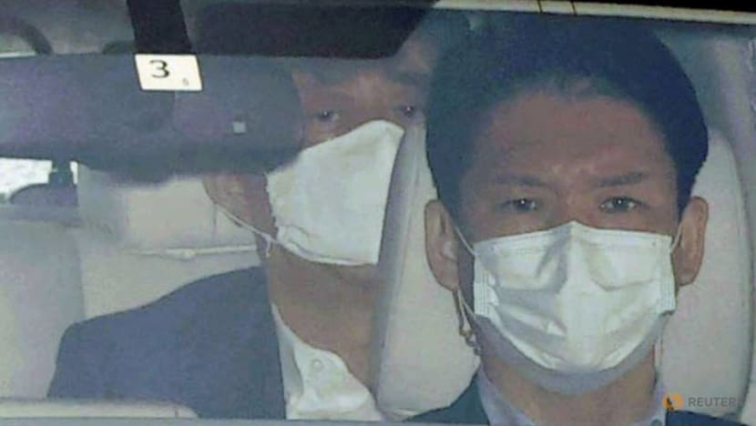 Japan's Abe returns from hospital, says to do his best at his job