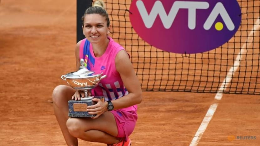Tennis: Halep taking her game to a higher plane after shutdown