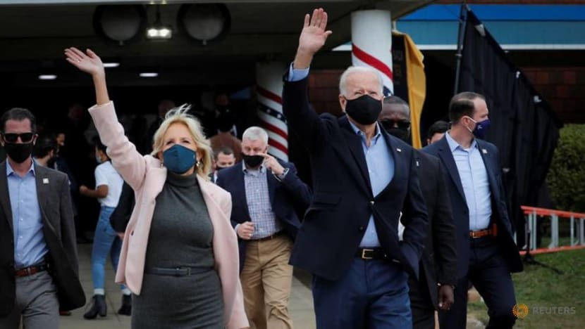 Biden hits the campaign trail after negative test for COVID-19