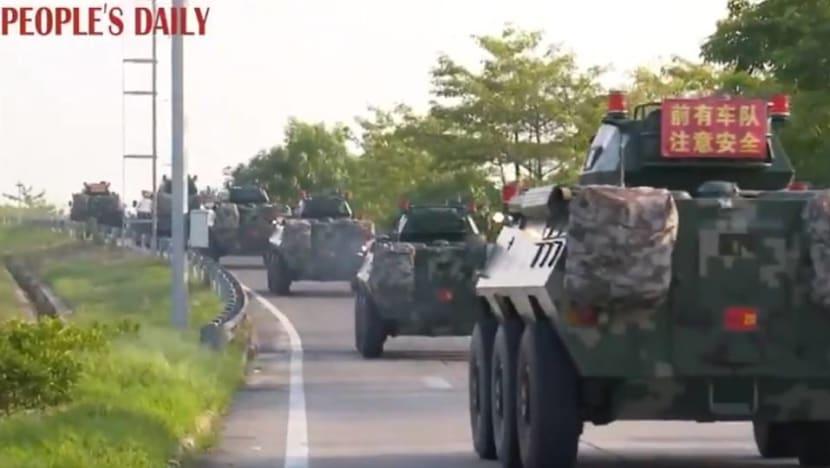 US 'deeply concerned' by reports of Chinese paramilitary at Hong Kong border
