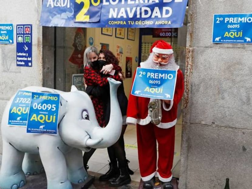 Crowds absent as Spain draws 2.4 billion euro Christmas lottery
