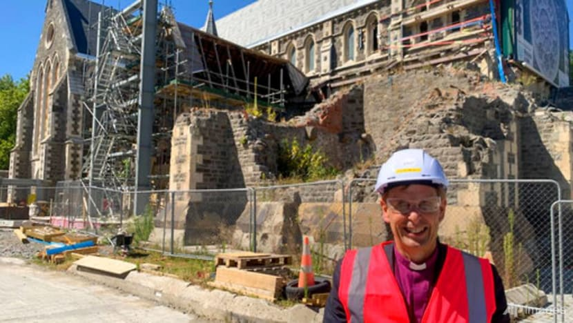10 years after quake, New Zealand's Christ Church Cathedral finally rising