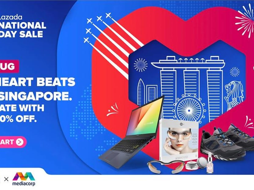 Up to 90 per cent off at Lazada's National Day Sale – here's how to score deals
