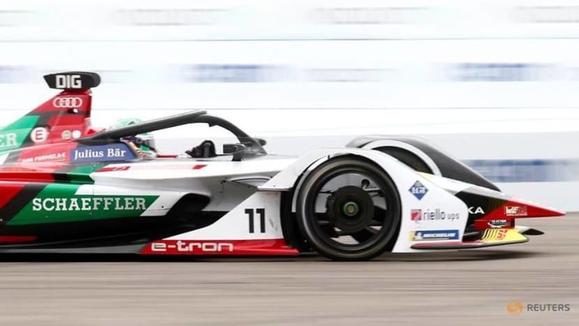 Motor racing-Di Grassi wins Puebla Formula E race